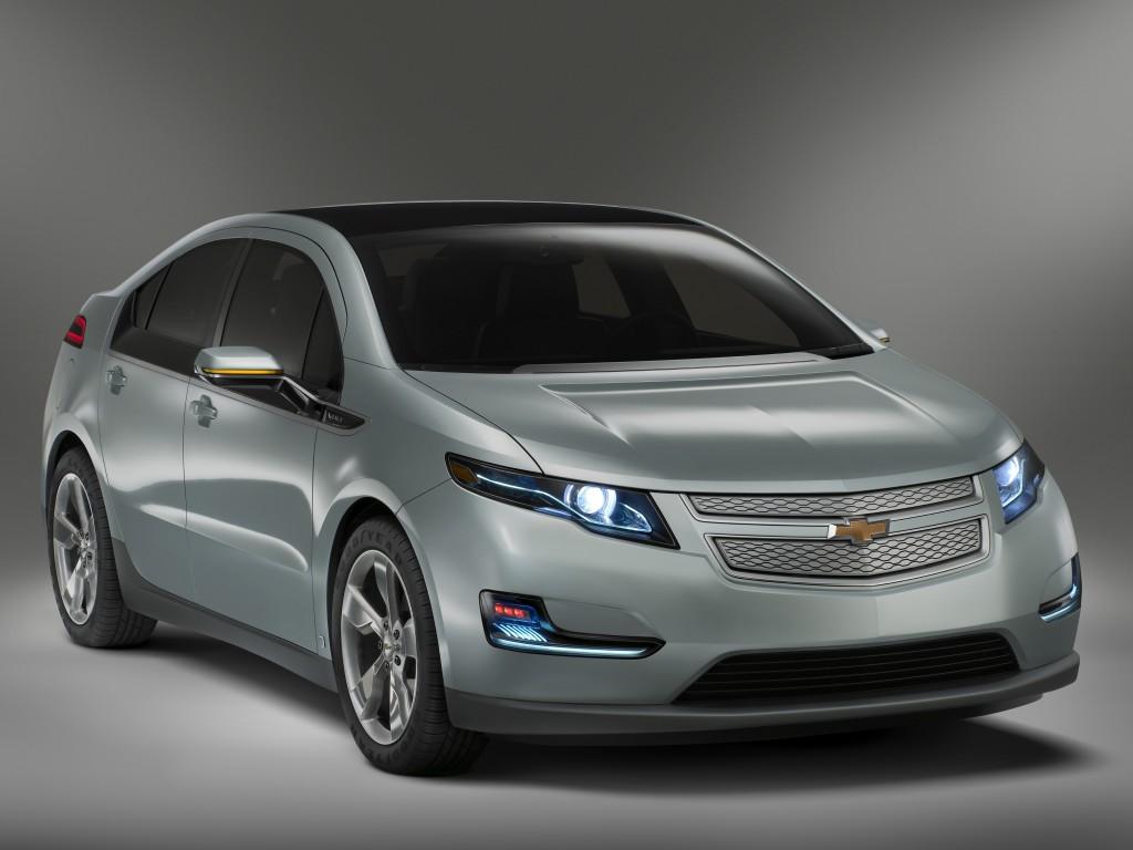 Новая версия гибрида Chevrolet Volt.