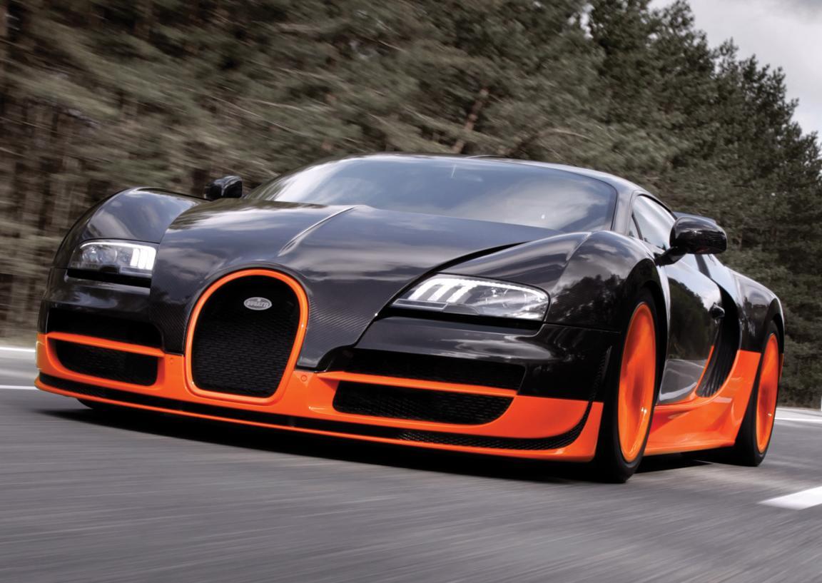 Bugatti может подарить миру новый Veyron.
